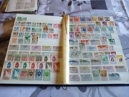 Collection De + De 1300 Timbres Différents Avant Indépendance - France (ex-colonies & Protectorats)