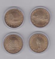 8 Medailles  Lettonie  2007 - Monnaie De Paris