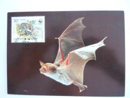 Bulgarie Bulgarije 1989 WWF Vleermuis Chauve-souris Bat Carte Maximum - Bats