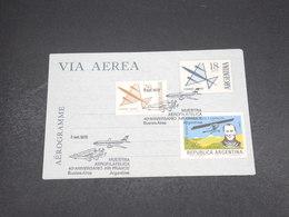 ARGENTINE - Aérogramme En 1973 , Cachet Anniversaire Air France - L 18506 - Entiers Postaux