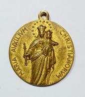 Medaglia Votiva - Anno Mariano - Pio XII (1954) Bronzo Dorato / 26mm - VATICANO - Andere