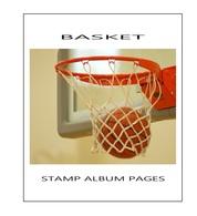 Suplemento Filkasol TEMATICA BASKET 2014 - Montado Con Filoestuches HAWID Transparentes - Álbumes & Encuadernaciones