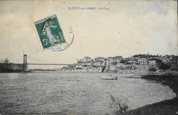 CPA.- France > [42] Loire > Saint Just-sur-Loire - Le Pont - Datée 1908 - BE - Saint Just Saint Rambert