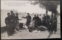 Rare CPA  Les Zouaves Au Front Nord La Popote 1914 - 1914-18