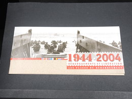 MILITARIA - Document Explicatif Du Débarquement En 1944- L 18510 - Documents