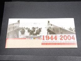 MILITARIA - Document Explicatif Du Débarquement En 1944- L 18515 - Documents