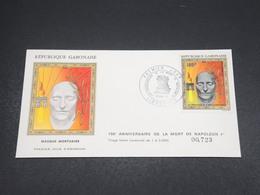 GABON - Enveloppe FDC Napoléon En 1971 - L 18519 - Gabon (1960-...)