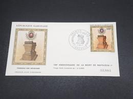 GABON - Enveloppe FDC Napoléon En 1971 - L 18521 - Gabon (1960-...)