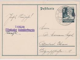 ALLEMAGNE 1934 CARTE DE OFFENBACH - Allemagne