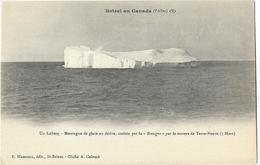 """Botrel Au Canada (l'Aller) - Un Iceberg - Montagne De Glace En Dérive, Croisée Par La """"Bretagne"""" - Canada"""