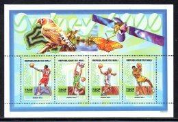 Mali 1734/37 Basket-ball, Papillon, Oiseaux , Jeux Olympiques De Sydney , Australia, Oiseau - Olympic Games