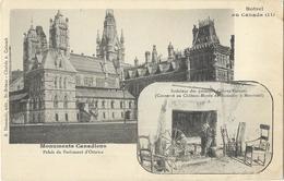 Botrel Au Canada - Monuments Canadiens - Palais Du Parlement D'Ottawa - Canada