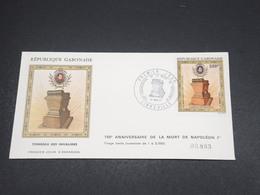 GABON - Enveloppe FDC Napoléon En 1971 - L 18522 - Gabon (1960-...)