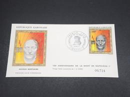 GABON - Enveloppe FDC Napoléon En 1971 - L 18523 - Gabon (1960-...)