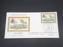 GABON - Enveloppe FDC Napoléon En 1971 - L 18524 - Gabon (1960-...)