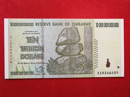Zimbabwe - 10 000 000 000 000 Ten Trillion Dollars 2008 Pick 88 - Neuf / Unc ! (CLVO201) - Zimbabwe
