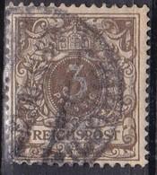 Reichspost, 1889/00 - 3pf - Nr.46 Usato° - Allemagne