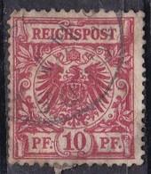 Reichspost, 1889/00 - 10pf - Nr.48 Usato° - Allemagne