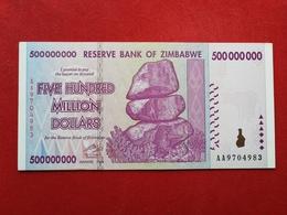 Zimbabwe - 500 000 000 Five Hundred Million Dollars 2008 Pick 82 - Neuf / Unc ! (CLVO205) - Zimbabwe