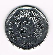 &  BRAZILIE  25  CENTAVOS  1995 - Brésil
