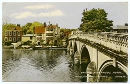 HENLEY ON THAMES  : BRIDGE AND ANGEL HOTEL - England