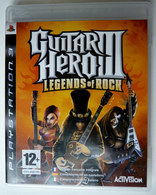 JEU Playstation JEU PS3 GUITAR HERO III LEGEND OF ROCK AVEC BOITIER ET LIVRET - PC-Games