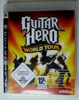 JEU Playstation JEU PS3 GUITAR HERO WORLD TOUR  AVEC BOITIER ET LIVRET - PC-Games