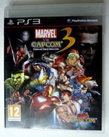 JEU Playstation JEU PS3 MARVEL VS CAPCOM 3   AVEC BOITIER ET LIVRET - PC-Games