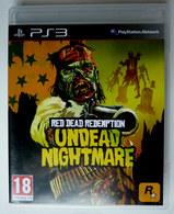 JEU Playstation JEU PS3  RED REDEMPTION Undead Nightmare  AVEC BOITIER ET LIVRET - PC-Games