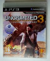 JEU Playstation JEU PS3  UNCHARTED 3 L'illusion De Drake  AVEC BOITIER ET LIVRET - PC-Games