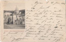 *** 26  ***   NYONS  Notre Dame De Bon Secours -  Pli Et (petite Déchirure) Timbrée Précurseur 1901 - Nyons