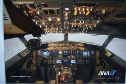 Avion / Airplane / ANA / Boeing B 777-300ER / Cockpit /airline Issue - 1946-....: Ere Moderne