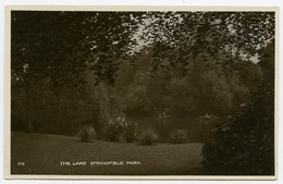 LONDON??? SPRINGFIELD PARK - THE LAKE - London Suburbs