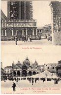 Venezia - Loggetta Del Sansovino - Piazza S. Marco Dopo Il Crollo Del Campanile 14.7.1902 - - Venezia