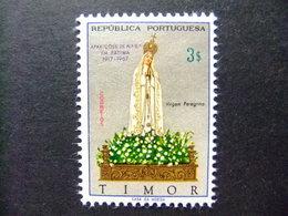 TIMOR 1967 50 Aniversario De La Aparición De La  VIRGEN De FÁTIMA Yvert 342 ** MNH - Timor
