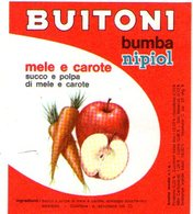 B 1922 - Etichetta, Buitoni - Fruits & Vegetables