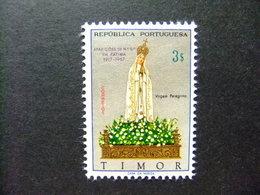 TIMOR 1967 50º ANIVERSÁRIO Da APARIÇÃO Da VIRGEM De FATIMA Yvert 342 ** MNH - Timor