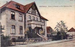 5 Alte Ansichtskarten Aus Greifswald Um 1900 , Mecklenburg , Ansichtskarte !!! - Greifswald