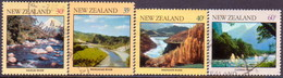 NEW ZEALAND 1981 SG #1243-46 Compl.set Used River Scenes - New Zealand