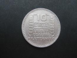 10 FRANCS TURIN...1945....TTB +   ....... - K. 10 Francs