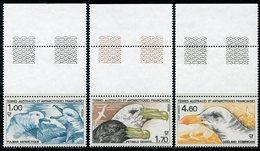 TAAF 1986 208-210 Birds - Marine Web-footed Birds