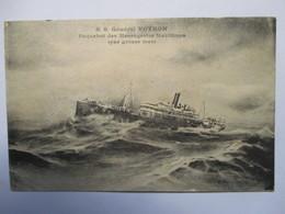 """  S.S. GENERAL VOYRON     ""     PAR GROSSE MER       TTB - Steamers"