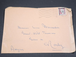 ALGÉRIE - Enveloppe De Sétif  Pour Rodez En 1962 , Affranchissement Decaris Surchargé EA - L 18561 - Algeria (1962-...)