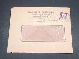 ALGÉRIE - Enveloppe De Sétif En 1962 , Affranchissement Decaris Surchargé EA - L 18562 - Algérie (1962-...)