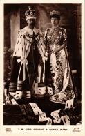 CPA King George V Queen Mary BRITISH ROYALTY (679006) - Königshäuser