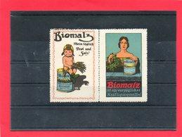 2 Vignettes (Biomalz Kräftigungsmittel ) - Erinnofilia