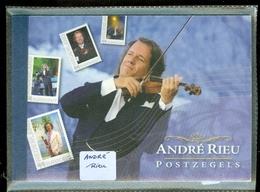 NEDERLAND * ANDRE RIEU * Muziek Music Violon Violin Prestige Boekje Prestigeboekje * POSTFRIS GESTEMPELD - Postzegelboekjes En Roltandingzegels