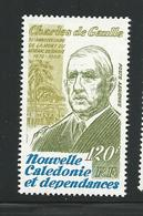 Nelle Calédonie 1980 Poste Aérienne 208- 10e Anniversaire De La Mort Du Général De Gaulle - Neufs** - Neufs