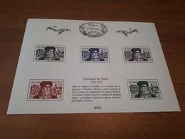 Stamps - France - Tresors De La Philatelie - Souvenir Blocks & Sheetlets