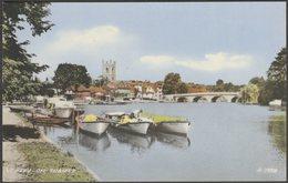 Henley-on-Thames, Oxfordshire, C.1950 - Valentine's Collo Colour Postcard - England